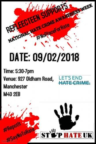 hate crime awareness poster